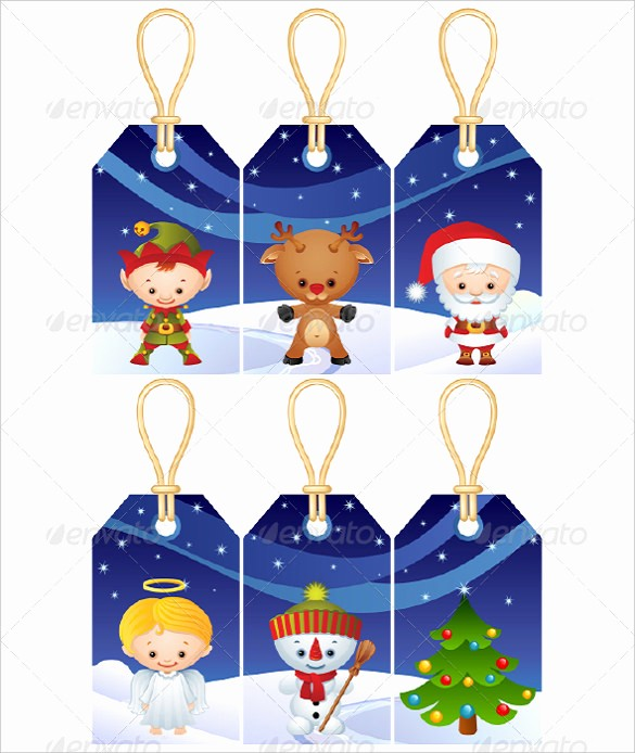 Template for Tags for Gifts Awesome 25 Gift Tag Templates – Free Sample Example format
