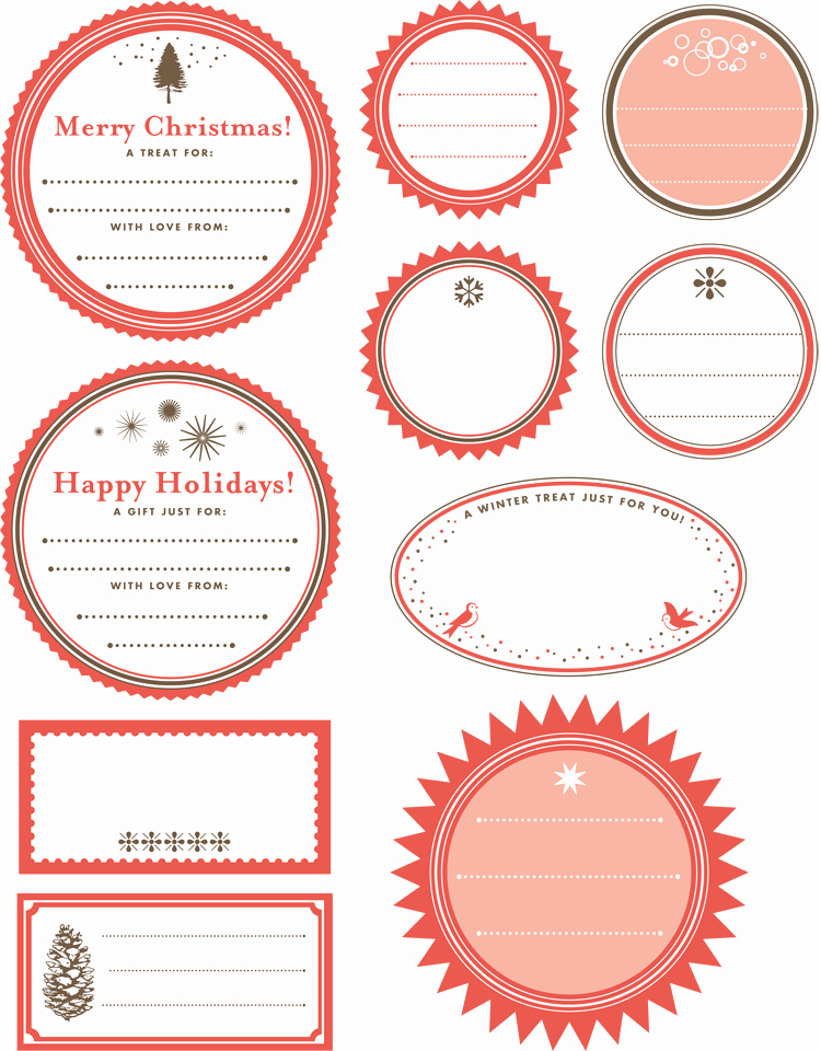 Template for Tags for Gifts Elegant Printable Gift Tag Templates Print Free Gift Wrapping Tags