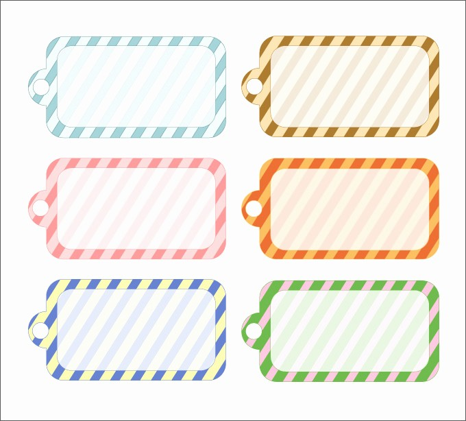 Template for Tags for Gifts Fresh Gift Tag Template 27 Free Printable Vector Eps Psd