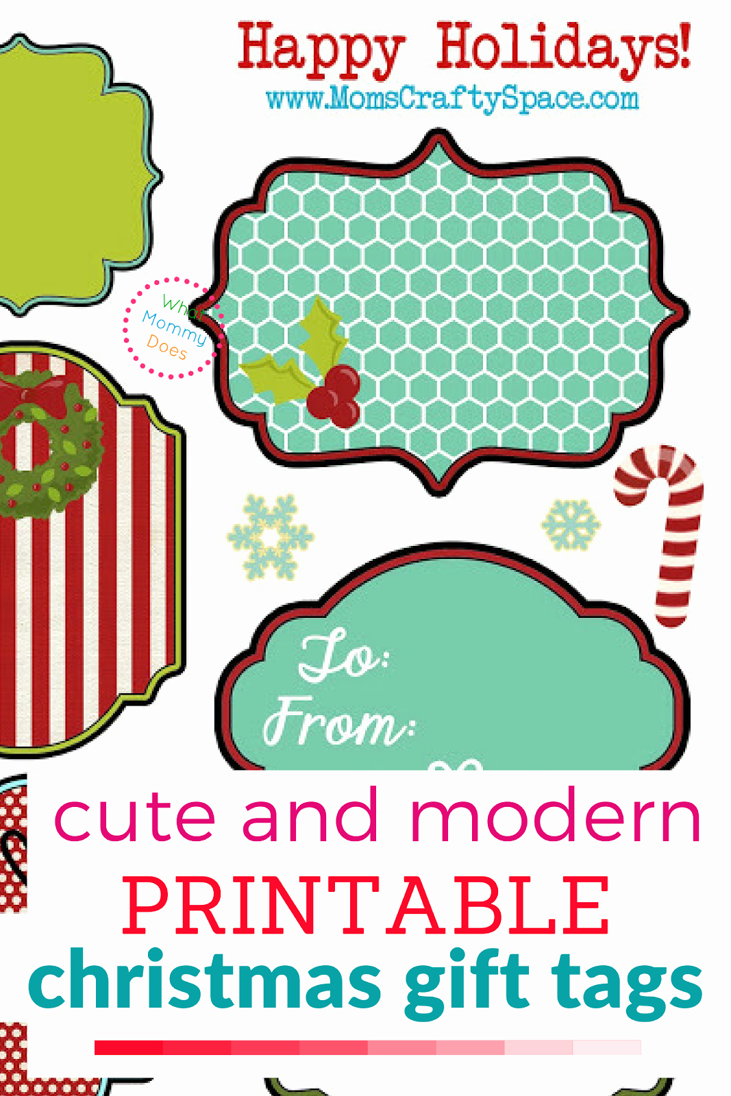 Template for Tags for Gifts Inspirational Free Printable Christmas Gift Tags