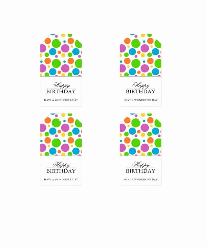 Template for Tags for Gifts Luxury 44 Free Printable Gift Tag Templates Template Lab