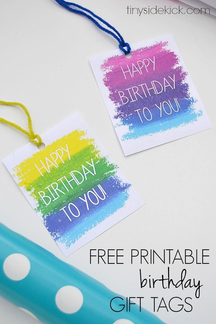 Template for Tags for Gifts New Printable Birthday Gift Tags Templates – Christmas Fun Zone