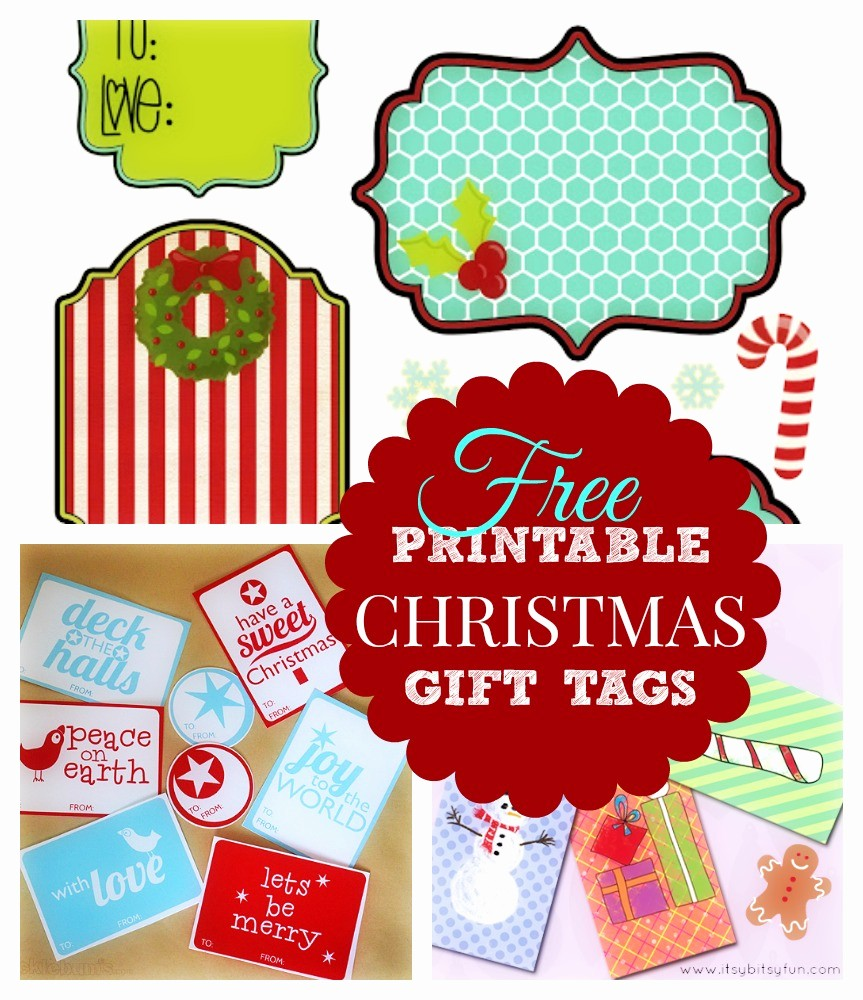 Template for Tags for Gifts New Printable Christmas Gift List What Mommy Does