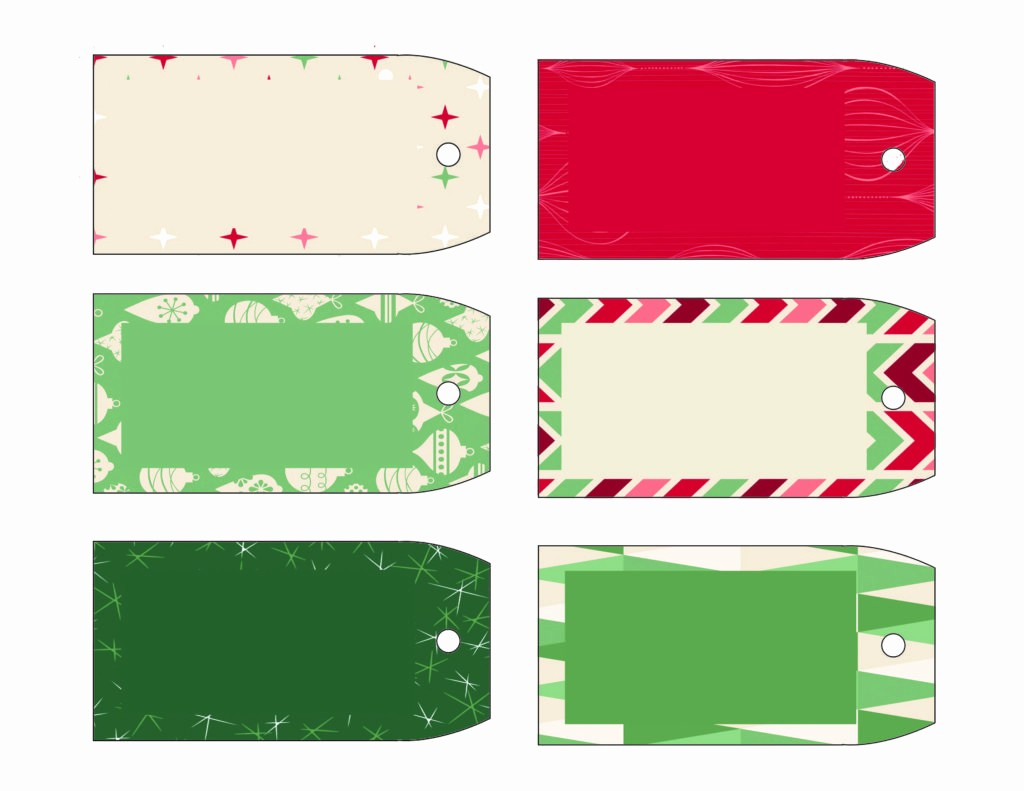 Template for Tags for Gifts New Printable Gift Tag Templates