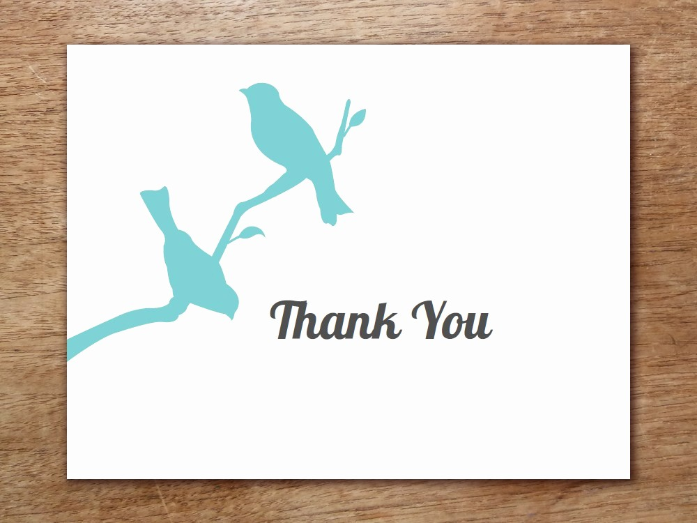 Template for Thank You Card Awesome Thank You Template
