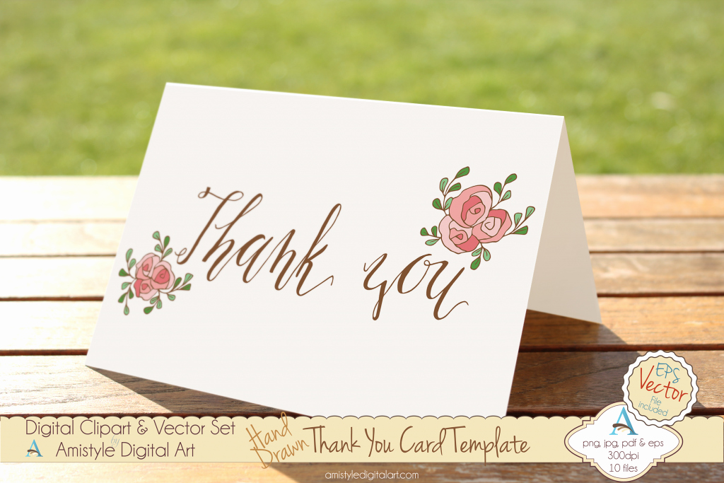Template for Thank You Card Beautiful the Best Thank You Cards Template Designs