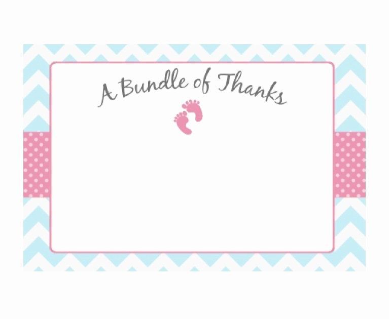 Template for Thank You Card Inspirational 30 Free Printable Thank You Card Templates Wedding