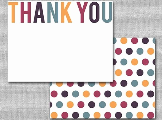 Template for Thank You Card Luxury 25 Beautiful Printable Thank You Card Templates Xdesigns