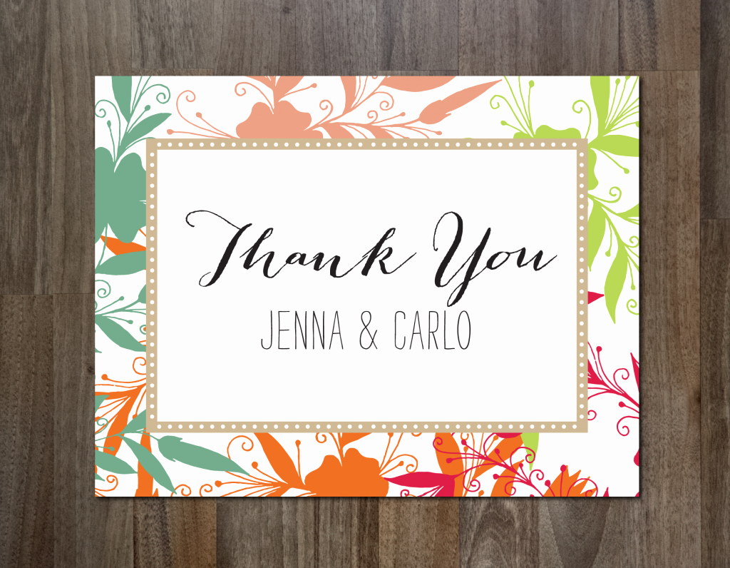 Template for Thank You Card New the Best Thank You Cards Template Designs