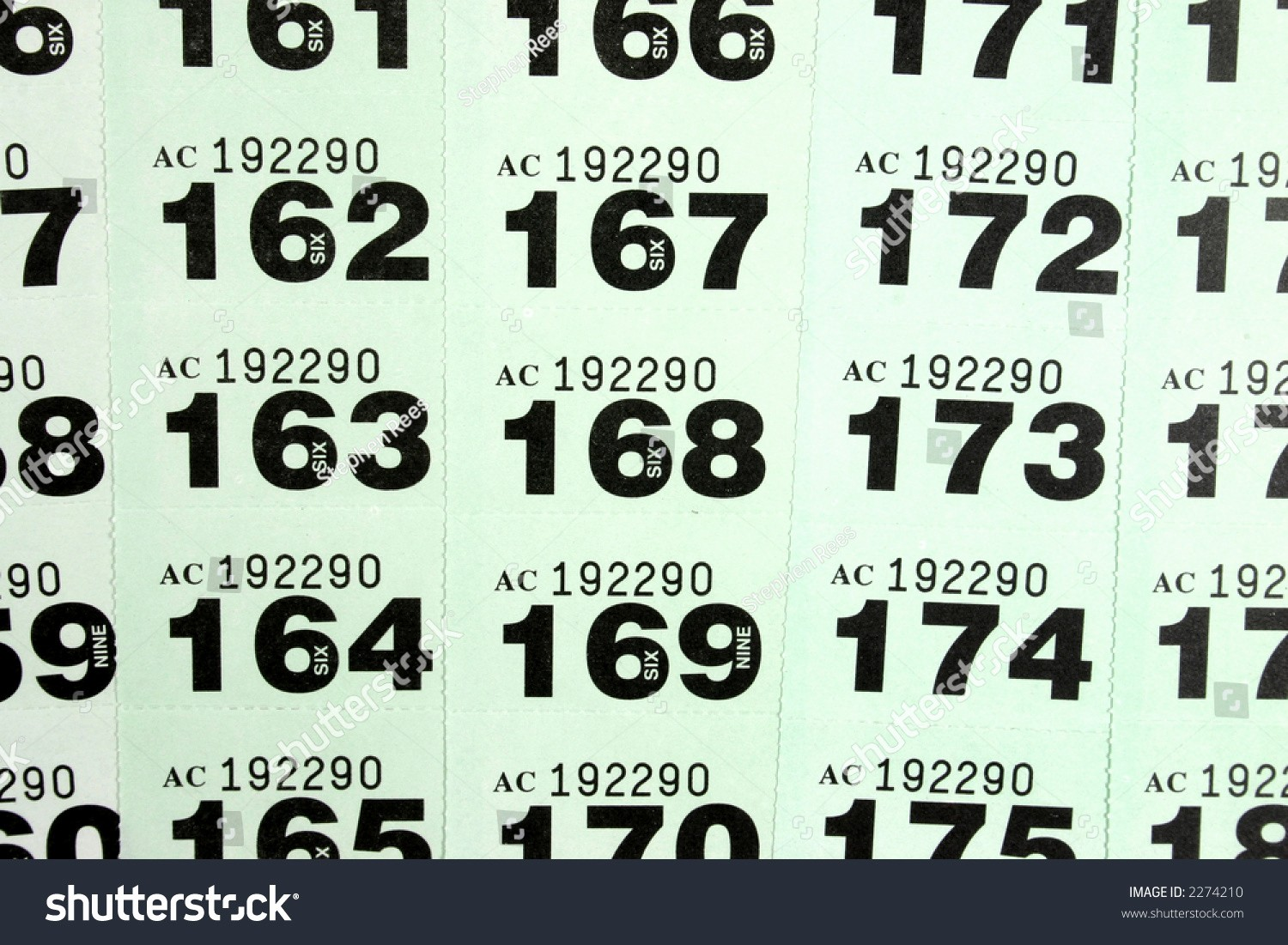 Template for Tickets with Numbers Lovely Raffle Ticket Templates Excel Template 2221