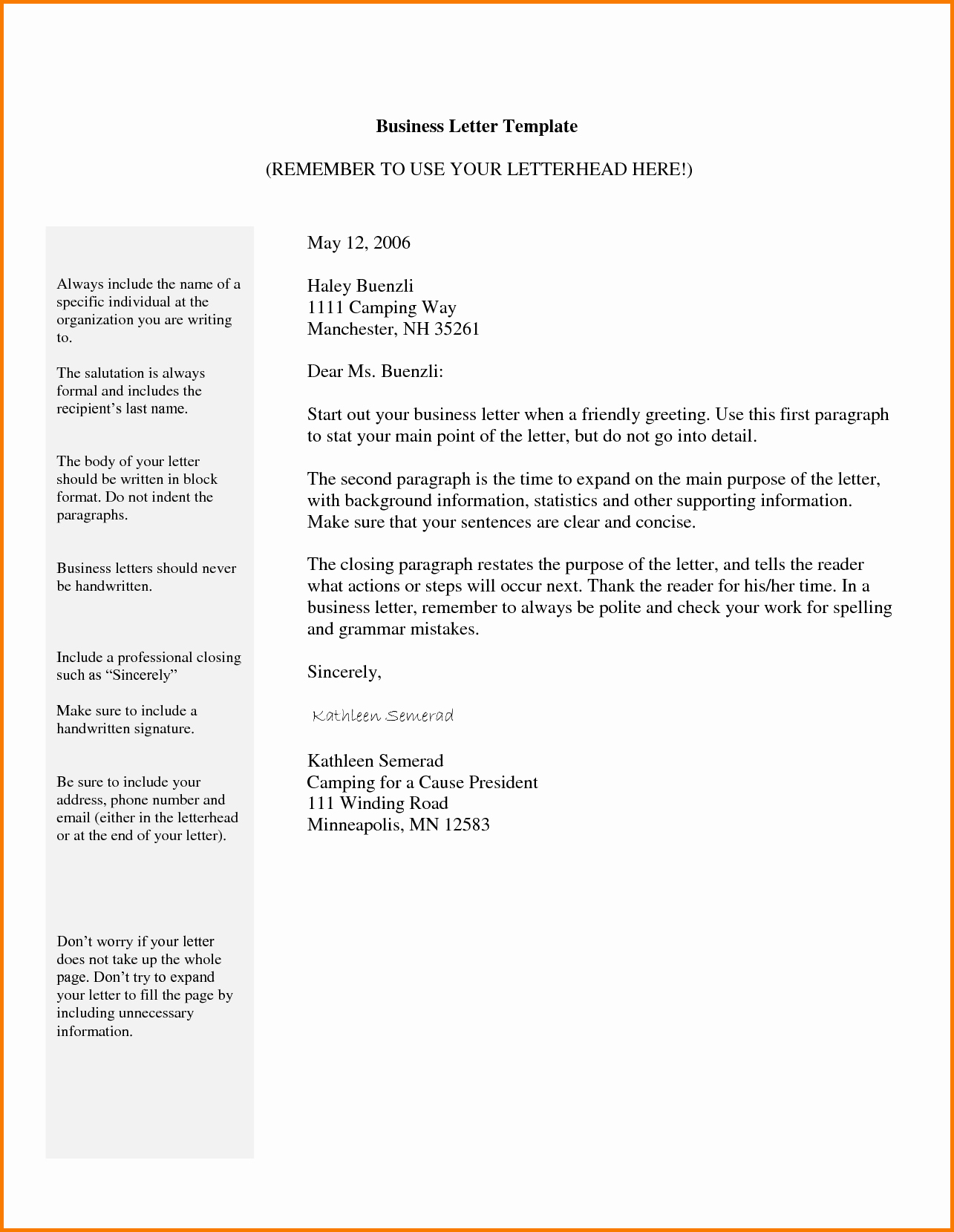 Template Of A Business Letter Elegant 4 Business Email format Template