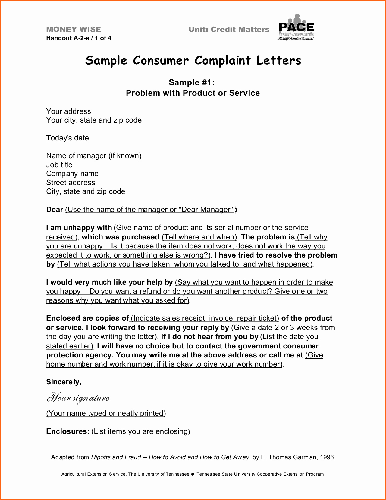 Template Of A Business Letter Fresh Business Plaint Letter format Mughals