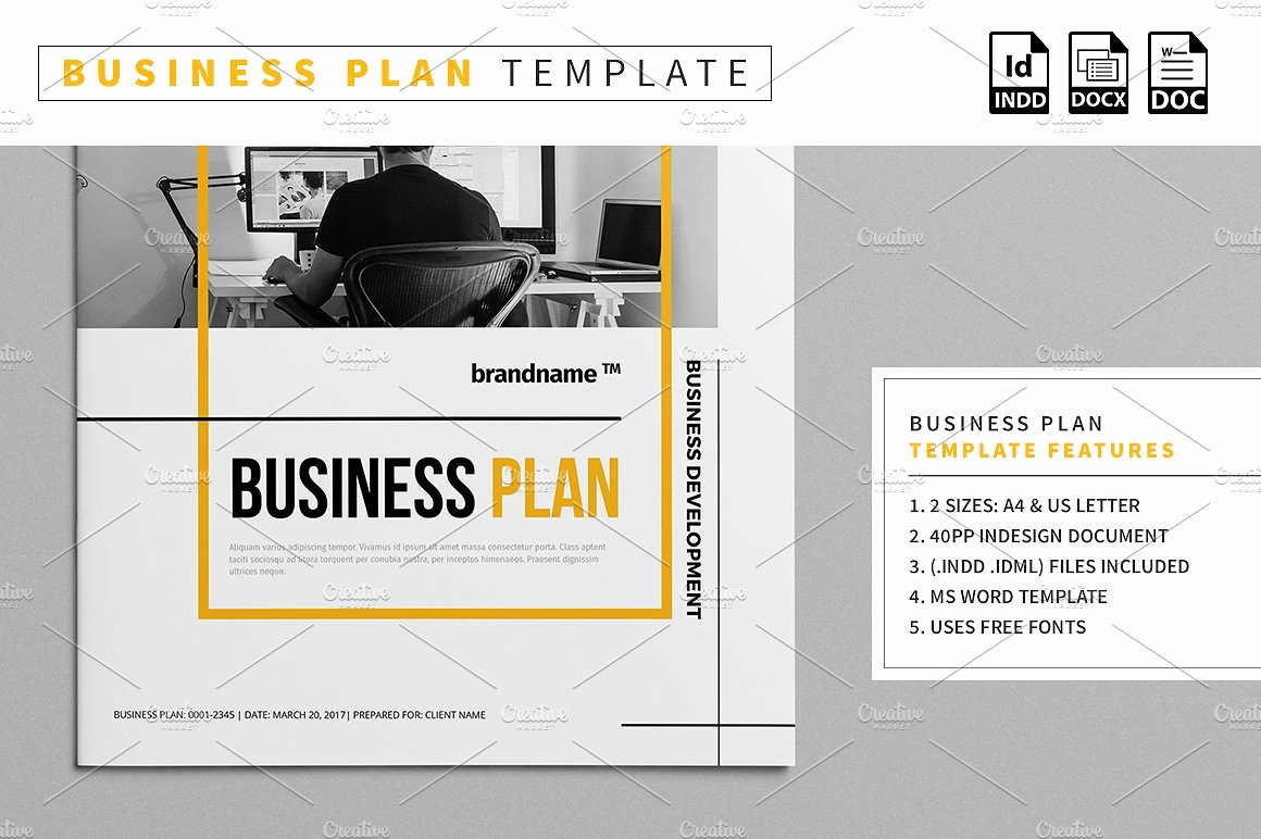 Template Of A Business Plan Elegant Business Plan Template Stationery Templates Creative