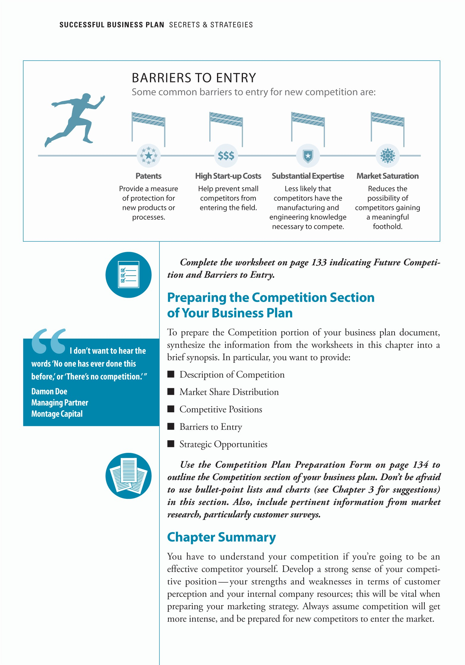 Template Of A Business Plan New Planningshop