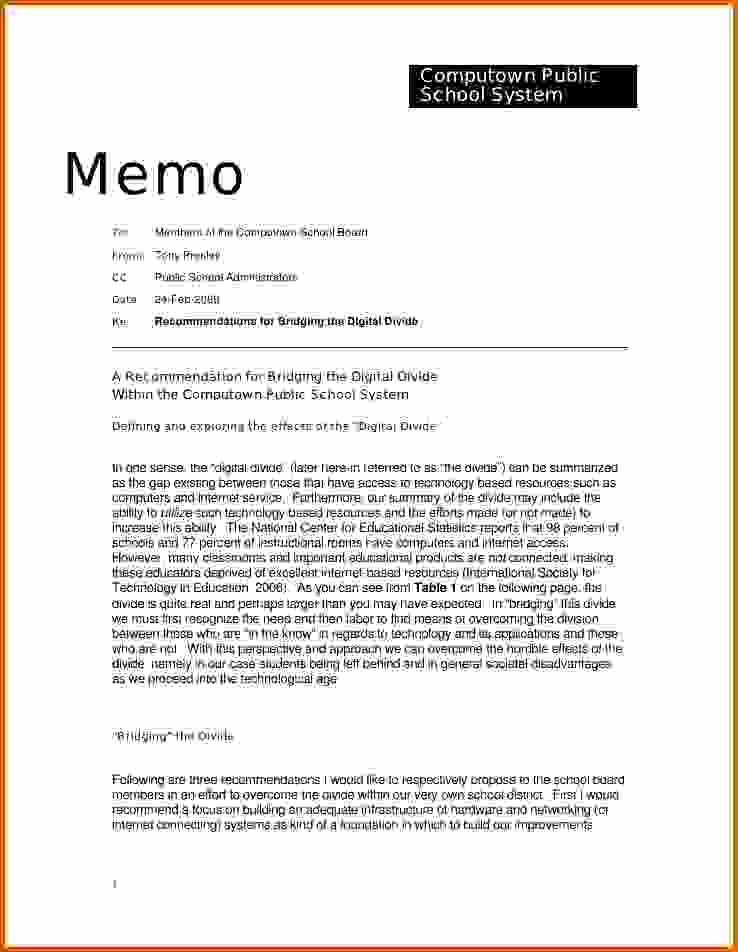 Template to Write A Letter Fresh 10 How to Write A Memorandum Letter