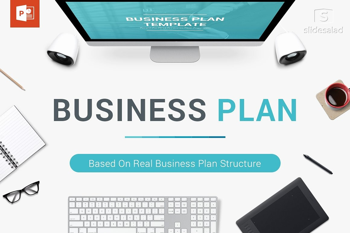 Templates for A Business Plan Awesome Business Plan Powerpoint Template Powerpoint Templates