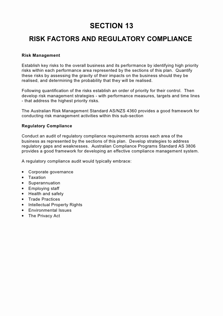 Templates for A Business Plan Fresh 5 Prehensive Strategic Business Plan Template