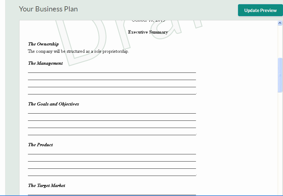 Templates for A Business Plan Luxury 10 Free Business Plan Templates for Startups Wisetoast