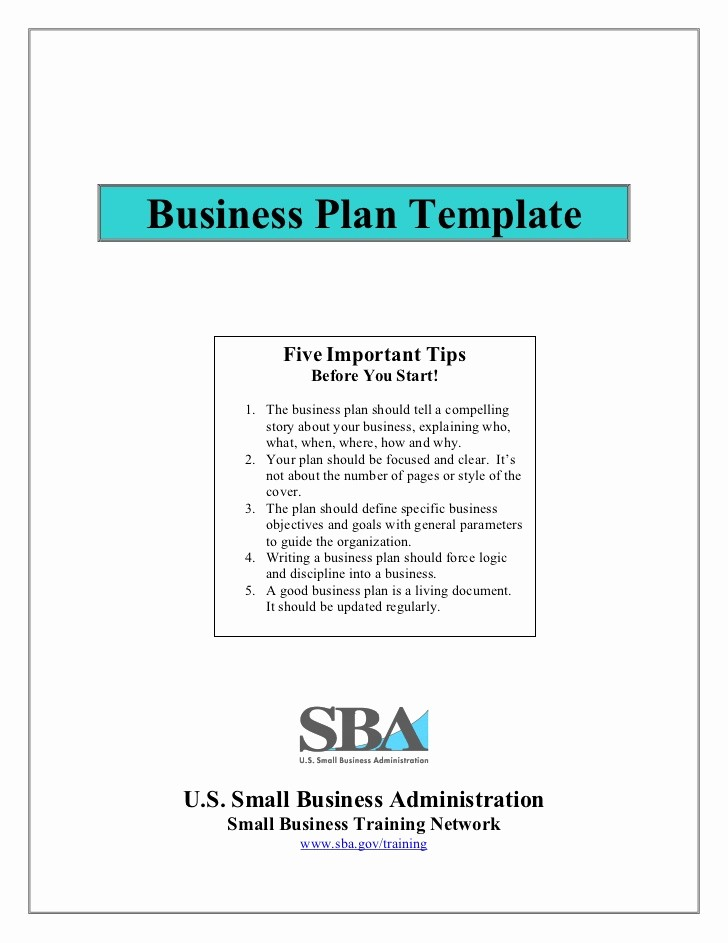 Templates for A Business Plan Luxury Small Business Plan Template