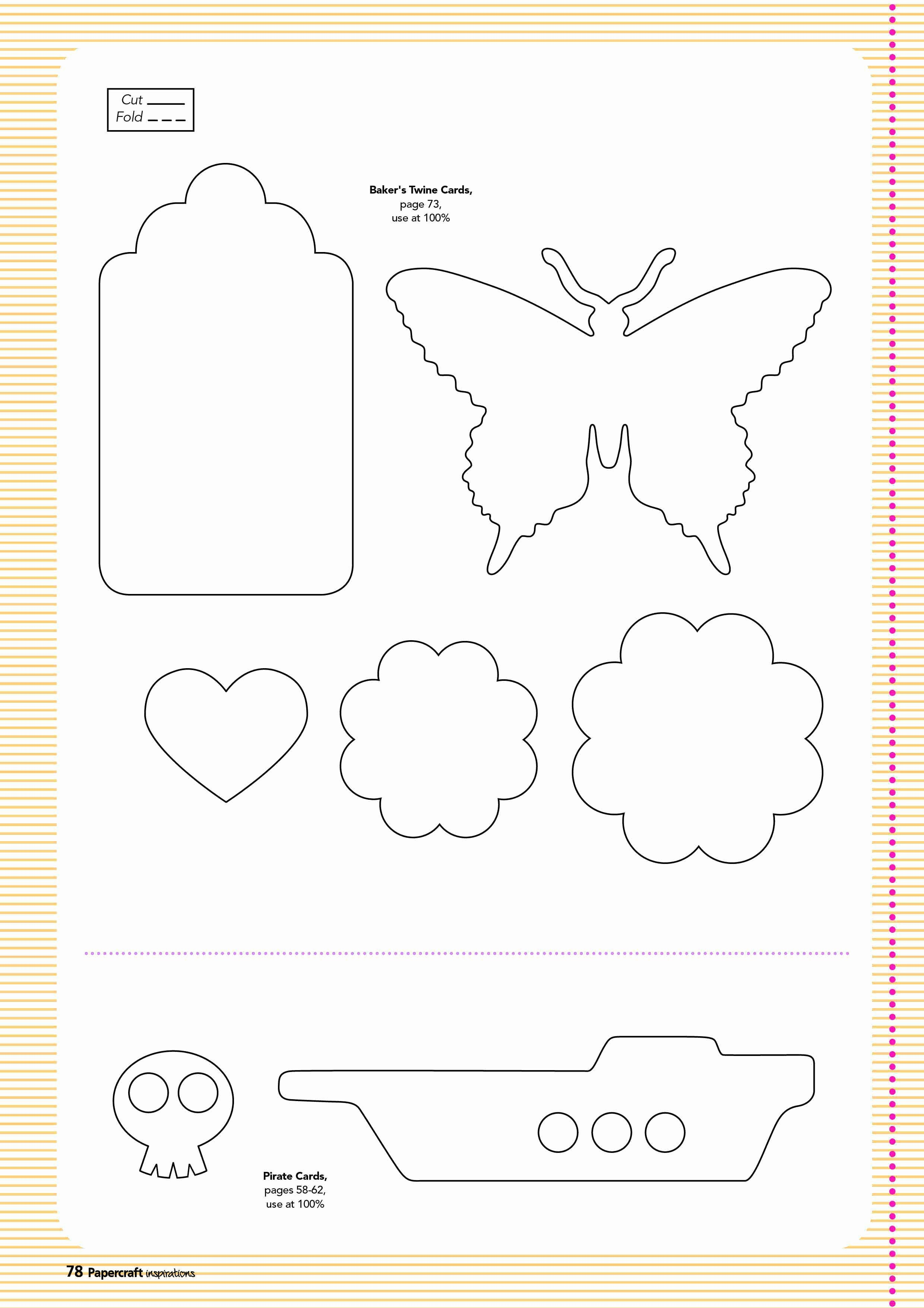 Templates for Cards Free Downloads Elegant Free Templates From issue 128 Papercraft Inspirations