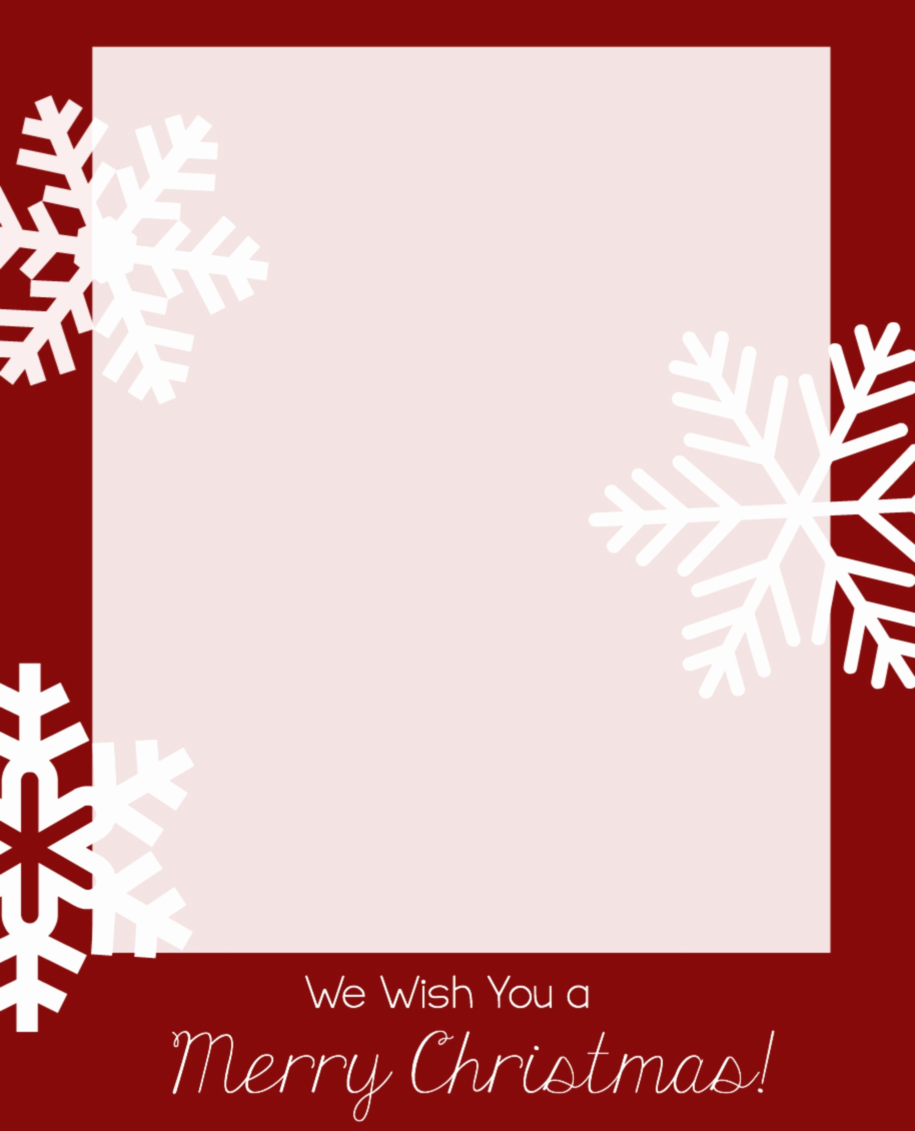 Templates for Cards Free Downloads Inspirational Free Christmas Card Templates