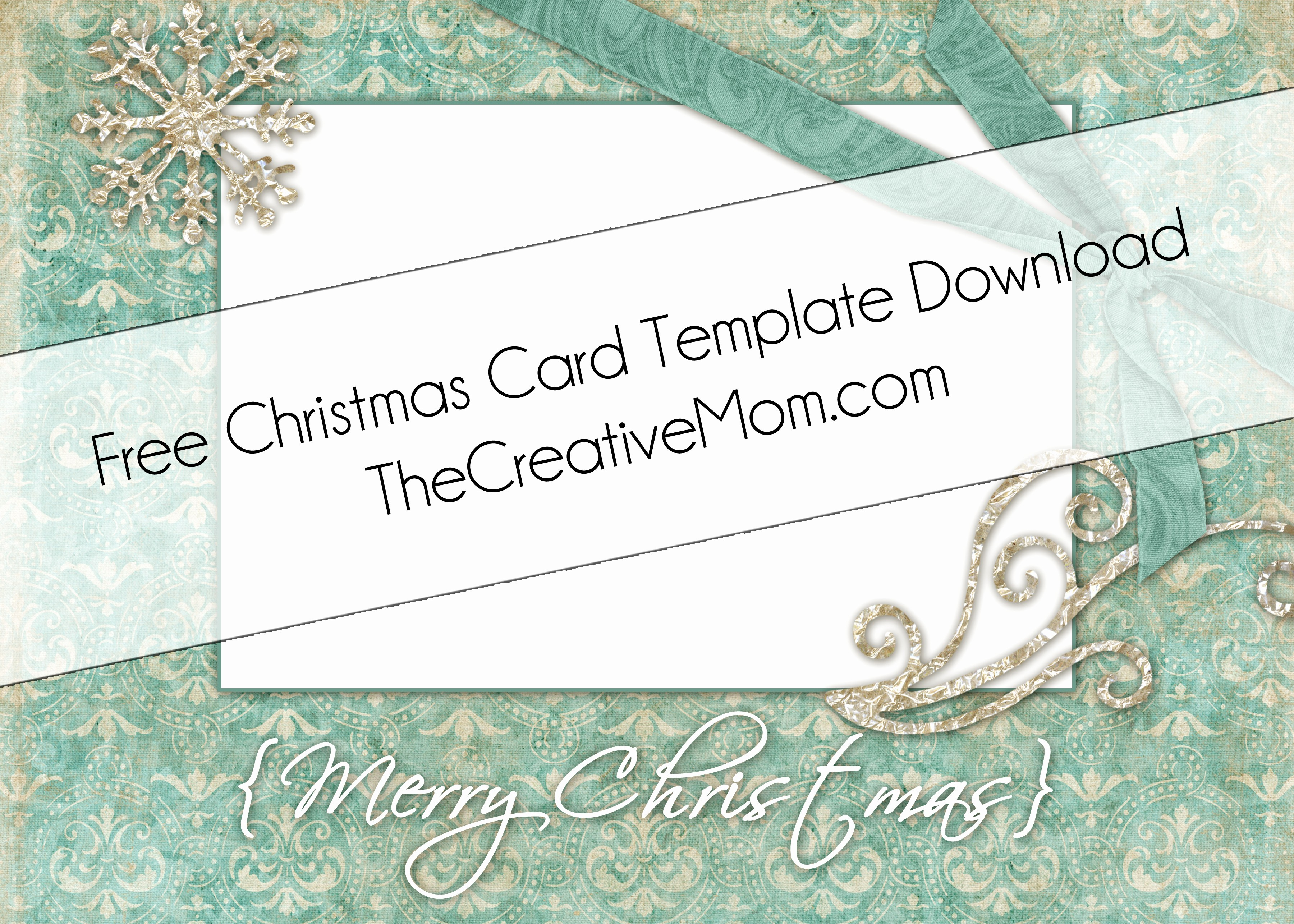 Templates for Cards Free Downloads Luxury Christmas Card Templates Free Download the Creative Mom