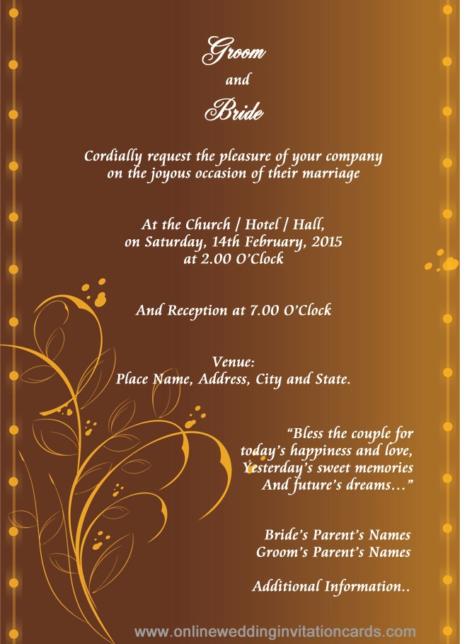 Templates for Cards Free Downloads Luxury Hindu Wedding Invitation Templates