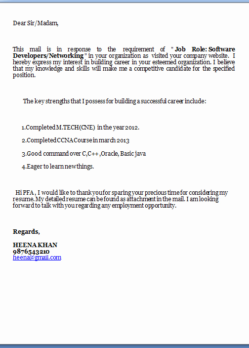 Templates for Cover Letters Free Inspirational Free Cover Letter Samples
