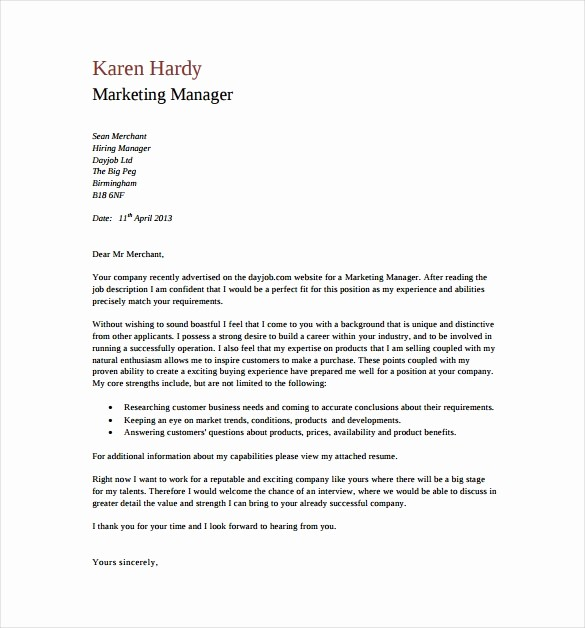 Templates for Cover Letters Free Luxury 18 General Cover Letter Templates Pdf Doc