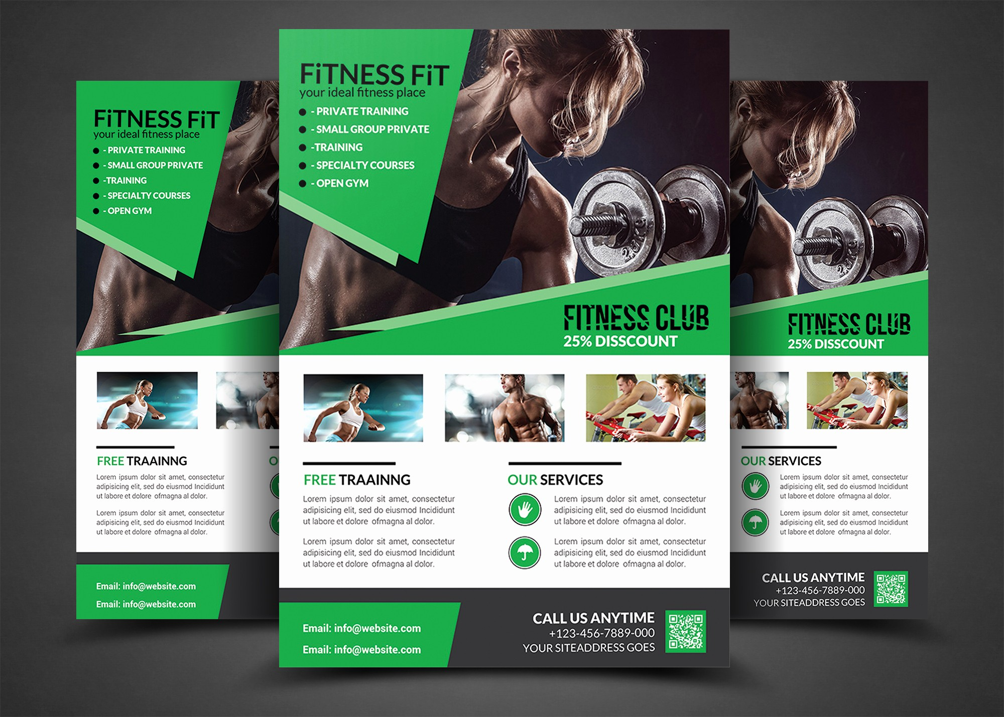 Templates for Flyers and Brochures Awesome Fitness Flyer Gym Flyer Templates Flyer Templates On