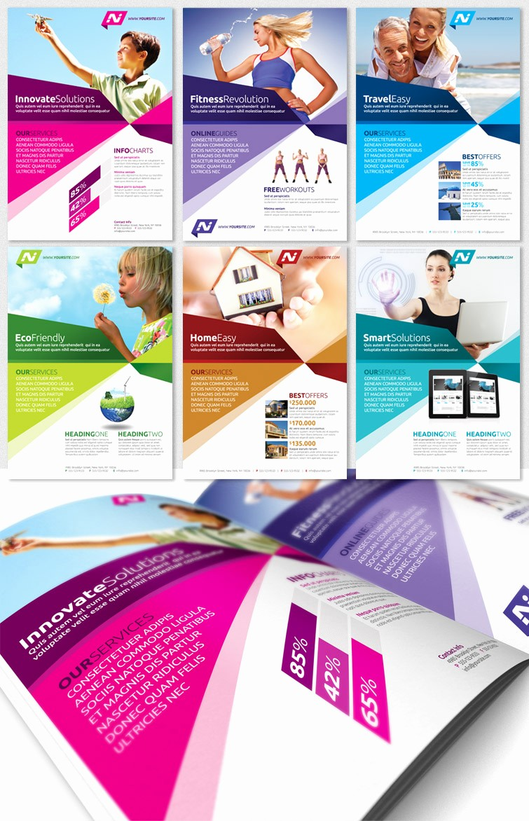 Templates for Flyers and Brochures Awesome Templates for Advertising Flyers Yourweek 3b3f68eca25e