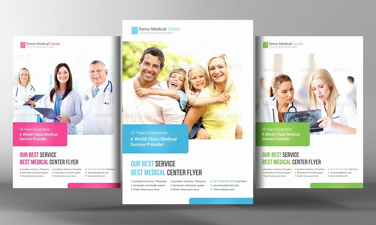 Templates for Flyers and Brochures Beautiful Medical Health Care Flyer Template Flyer Templates