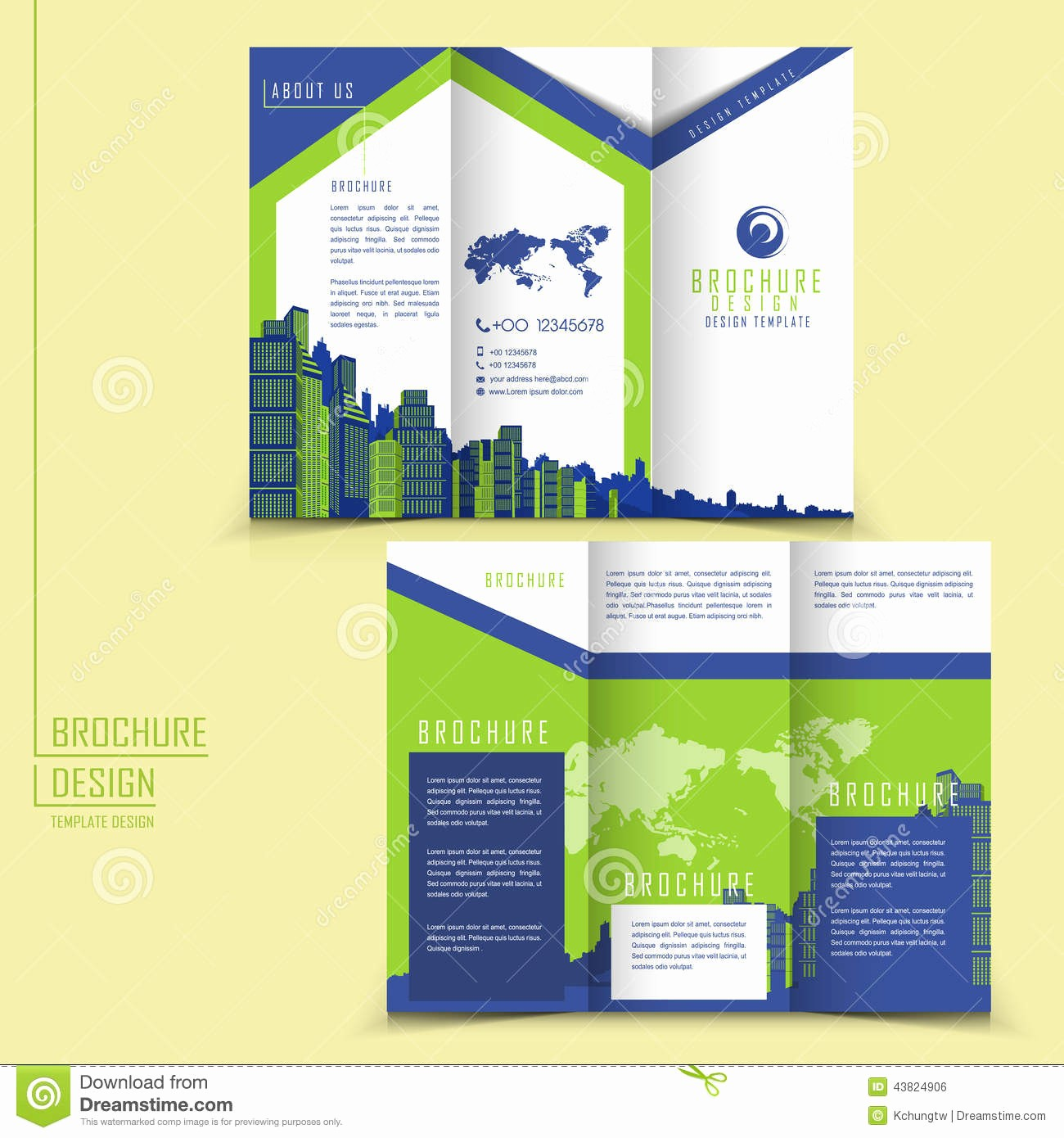 Templates for Flyers and Brochures Fresh Brochure Tri Fold Brochure Template