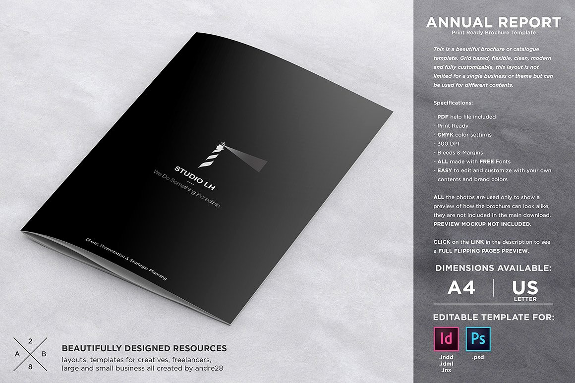 Templates for Flyers and Brochures Inspirational Annual Report & Brochure Template Brochure Templates
