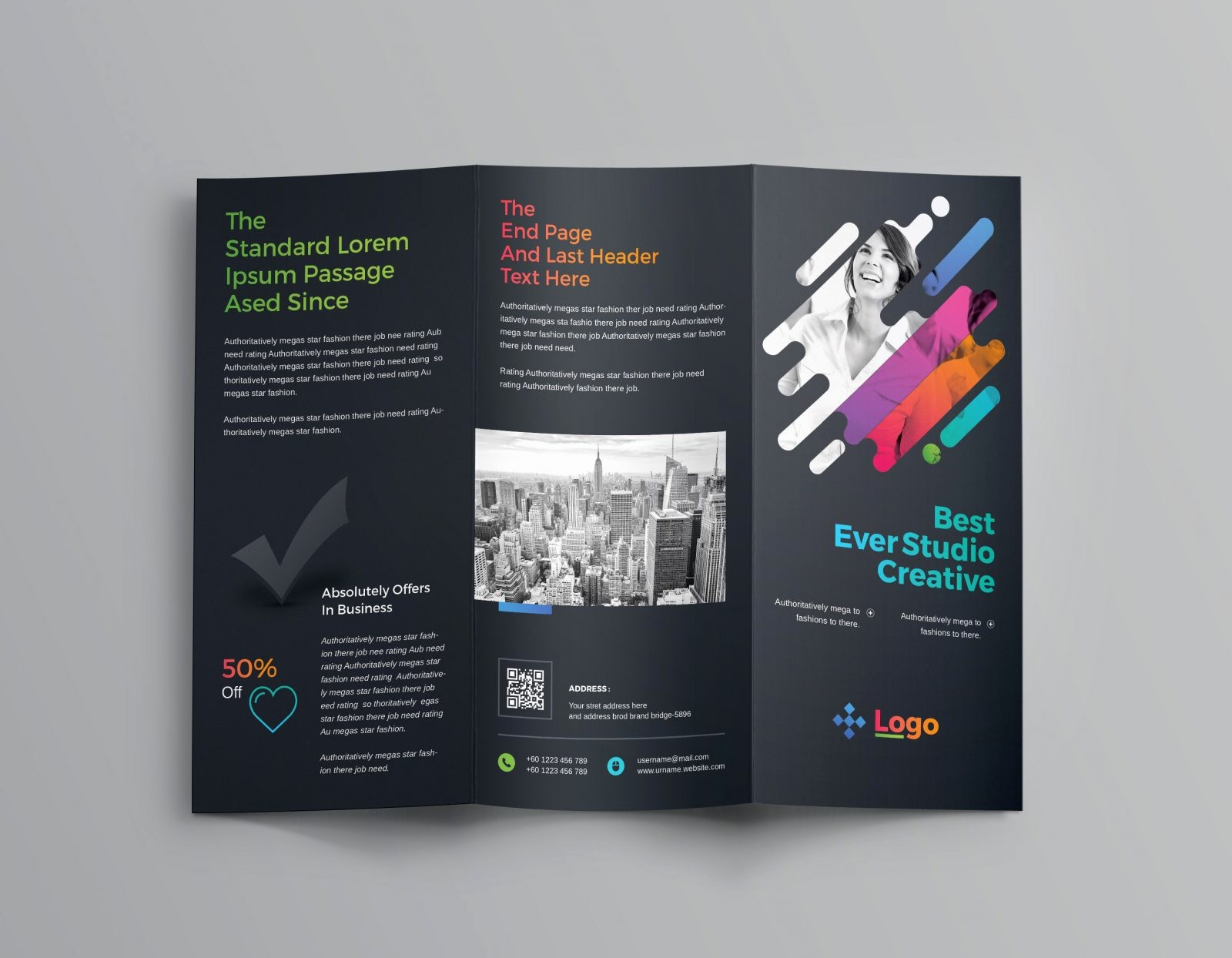 Templates for Flyers and Brochures Inspirational Colorful Professional Tri Fold Brochure Template