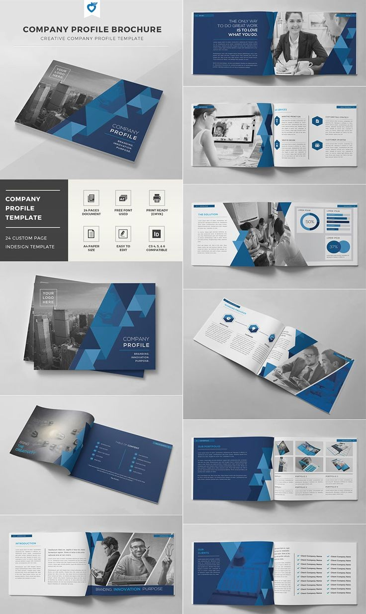 Templates for Flyers and Brochures Lovely Best 25 Pany Profile Ideas On Pinterest