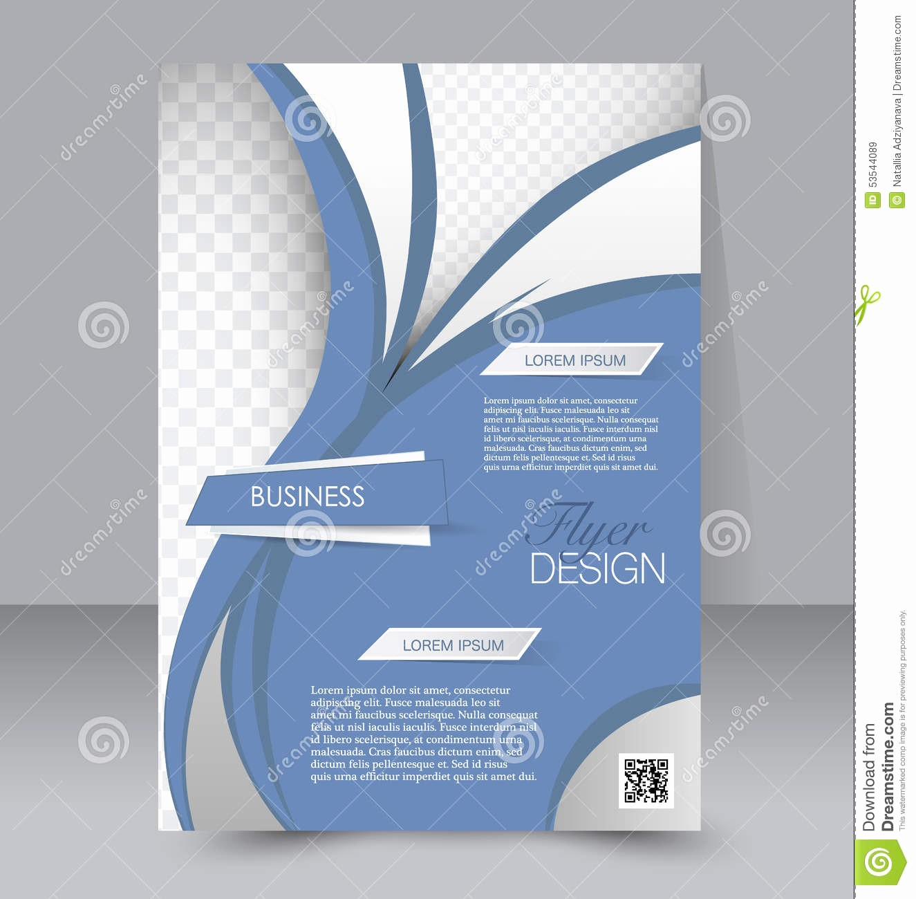 Templates for Flyers and Brochures New Flyer Template Business Brochure Editable A4 Poster