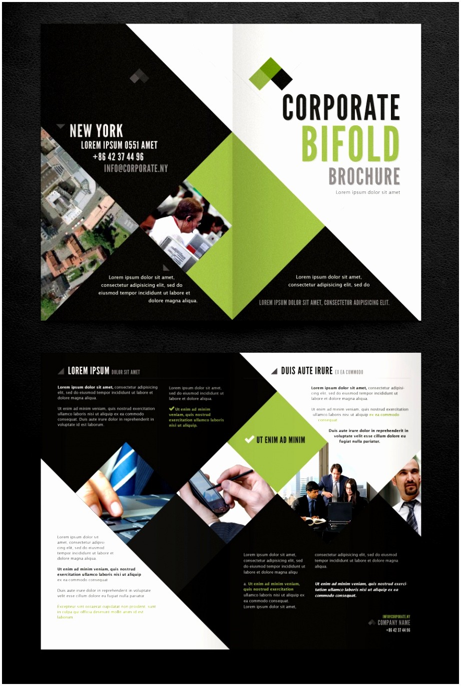 Templates for Flyers and Brochures Unique 7 Two Fold Brochure Templates Free Download Xwteu