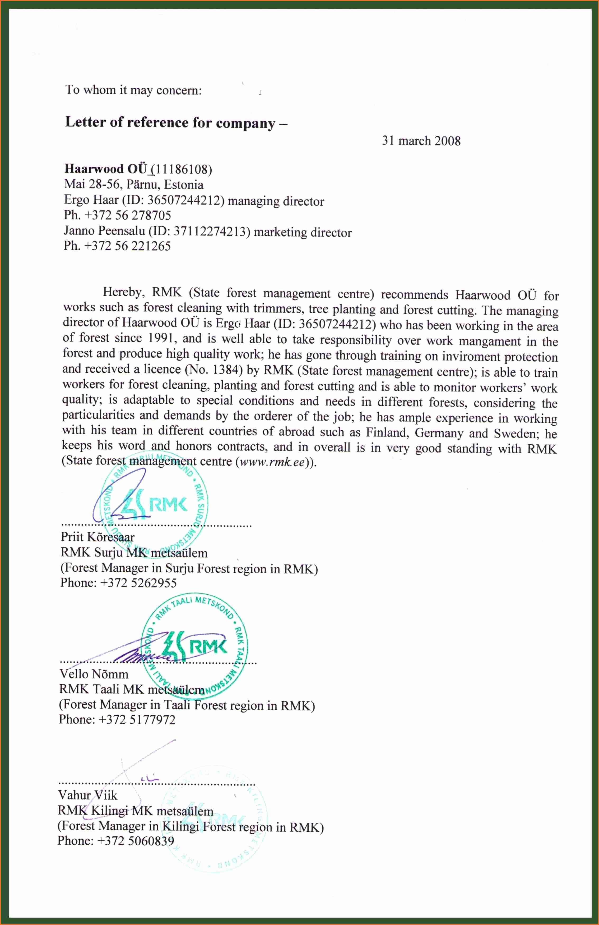 Templates for Letter Of Recommendation Best Of 6 Re Mendation Letter Bud Template Letter