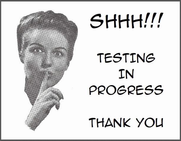 Testing In Progress Sign Pdf Awesome Shhh Testing In Progress Free Printable Classroom Door