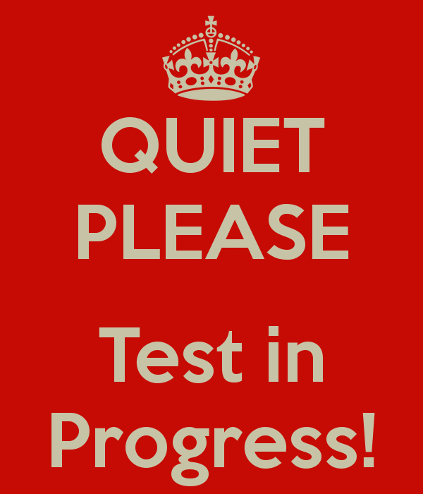 Testing In Progress Sign Pdf Best Of Quiet Please Test In Progress Keep Calm and Carry On