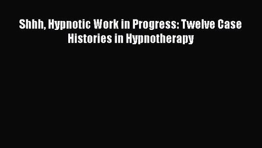 Testing In Progress Sign Pdf Fresh Free Full [pdf] Downlaod Shhh Hypnotic Work In Progress
