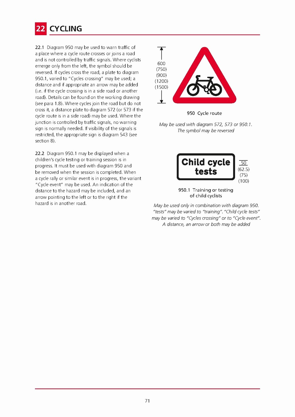 Testing In Progress Sign Pdf Lovely Page Uk Traffic Signs Manual Chapter 4 Warning Signs