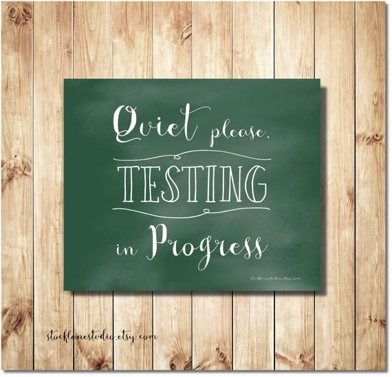 Testing In Progress Sign Pdf Luxury Testing In Progress Printable Sign 8x10 Green by