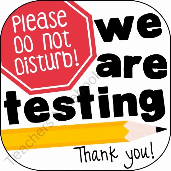 Testing In Progress Sign Pdf New Testing Sign From Ladybugsteacherfiles On Teachersnotebook