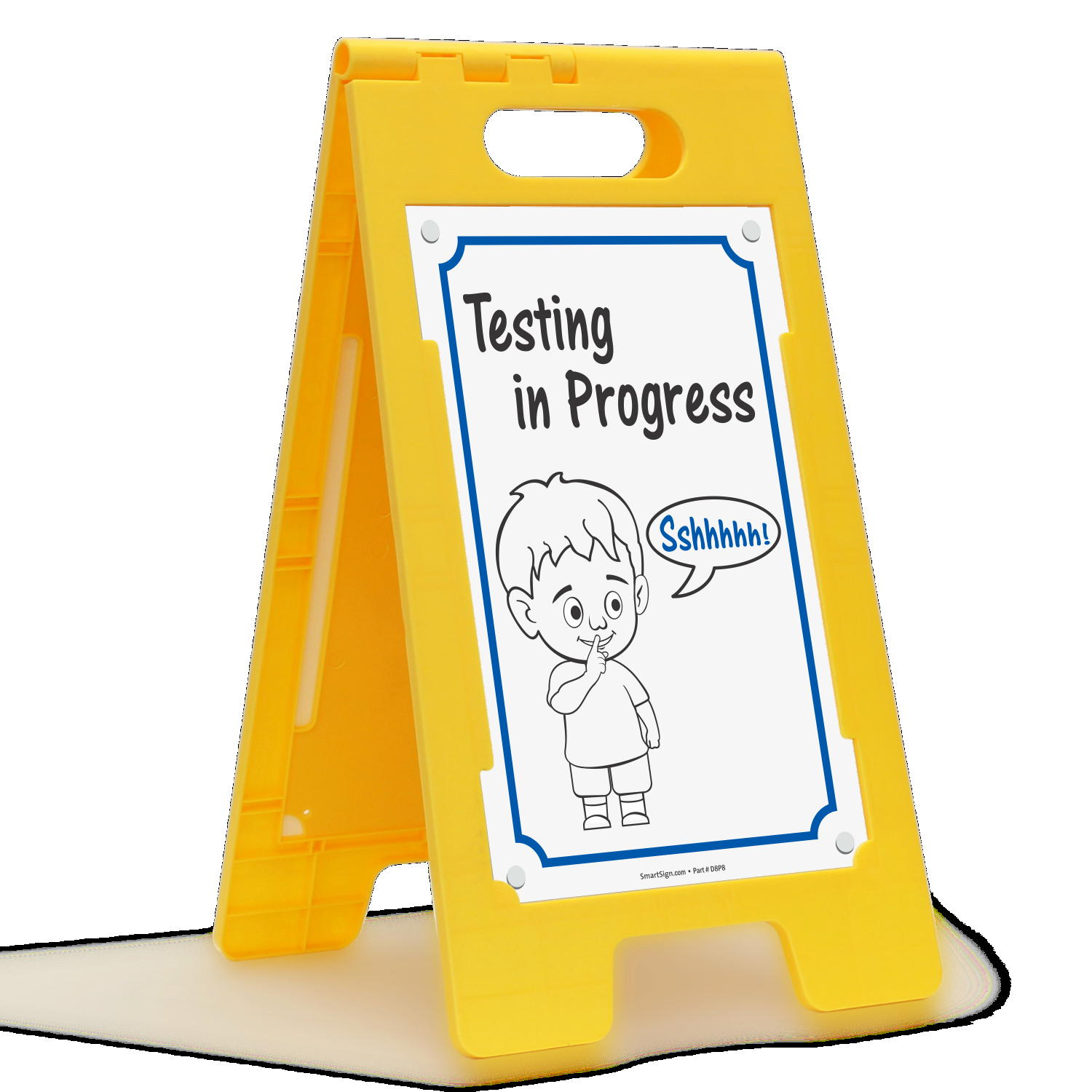 Testing In Progress Sign Pdf Unique School Visitors Signs