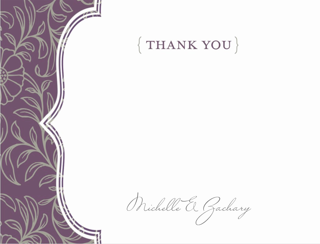 Thank You Card Template Free Beautiful Thank You Template