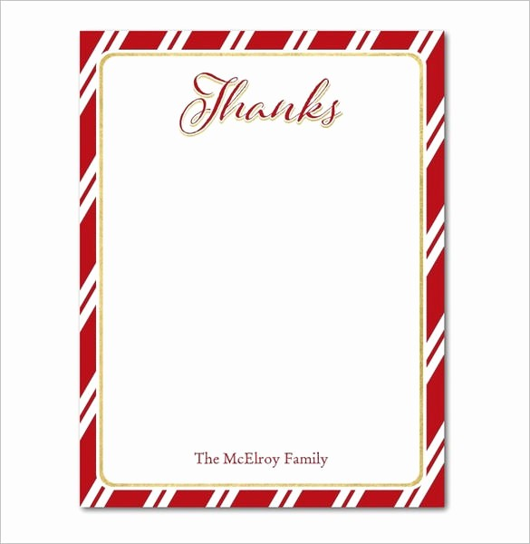 Thank You Card Template Free Best Of 15 Holiday Thank You Cards – Free Printable Psd Pdf Eps