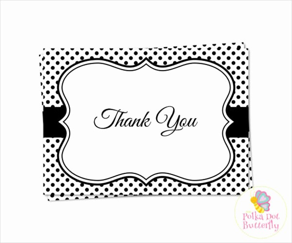 Thank You Card Template Free Elegant 70 Thank You Card Designs