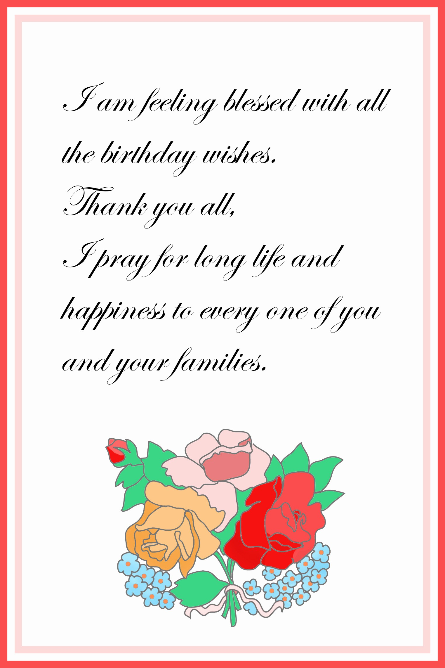 Thank You Card Template Free Elegant Printable Thank You Cards – Free Printable Greeting Cards